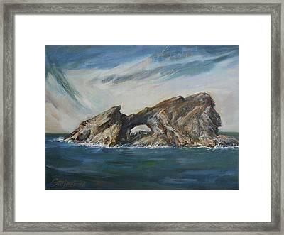 Colombretes Island II Framed Print by Stefano Popovski