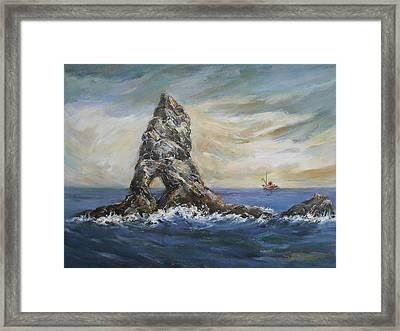 Colombretes Island Framed Print by Stefano Popovski