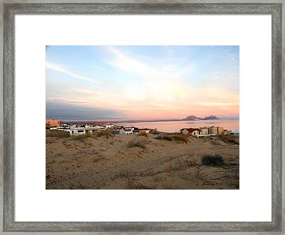 Colonas La Hacienda Framed Print