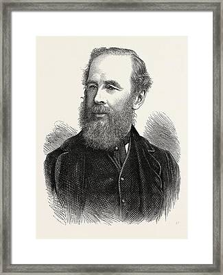 Colonel H.b. Sandford, British Executive Commissioner Framed Print by English School