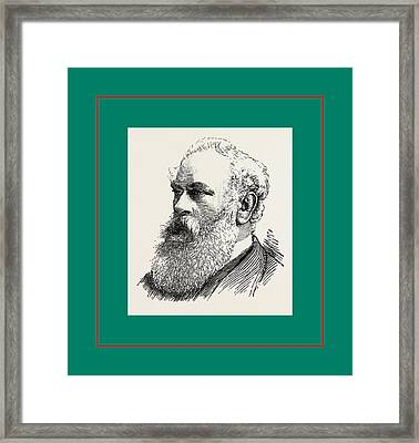Colonel Hughes, M.p. Plumstead, London, Uk Framed Print by English School