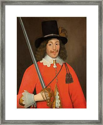 Colonel John Hutchinson, C.1643 Framed Print by John Souch
