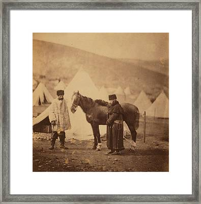 Colonel Lowe, I.e Framed Print by Quint Lox
