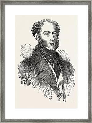 Colonel Mac Kinnon Framed Print by English School