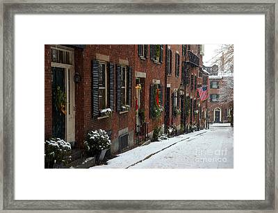 Boston Proper Framed Print