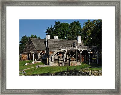 Framed Print featuring the photograph Colonial Days by Caroline Stella