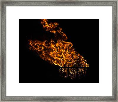 Fire Cresset Framed Print