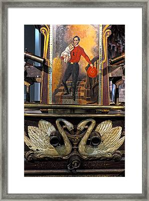 Colonial Fire Engine 2 Framed Print