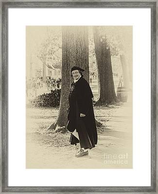 Colonial Gentleman I Framed Print