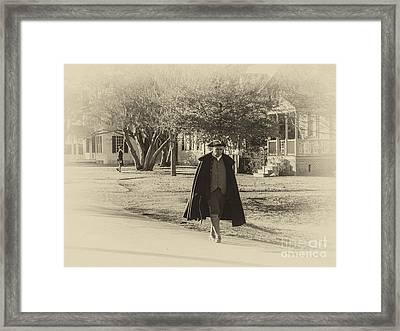 Colonial Gentleman II Framed Print