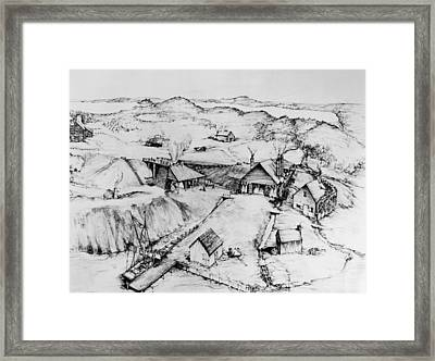 Colonial Iron Works Framed Print