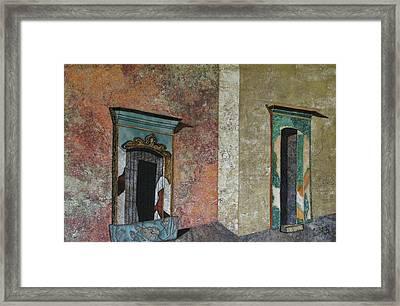 Colonial Mexico Framed Print by Lynda K Boardman
