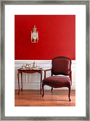 Colonial Style Framed Print by Olivier Le Queinec