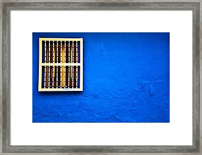 Colonial Window Framed Print
