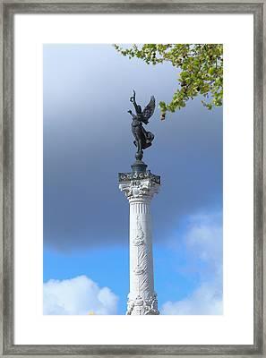 Colonnes Des Girondins Bordeaux Framed Print by Rostislav Ageev
