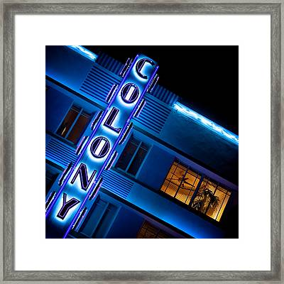 Colony Hotel 1 Framed Print by Dave Bowman