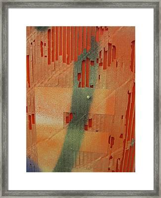 Color And Texture Framed Print by Alfred Ng