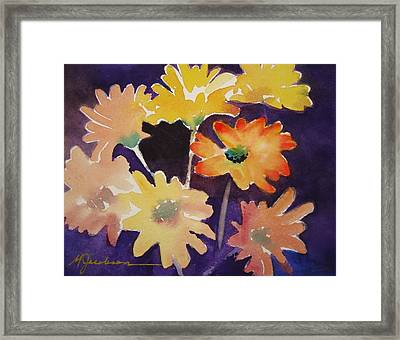 Color And Whimsy Framed Print by Marilyn Jacobson