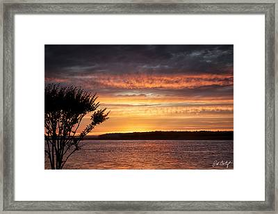 Color At Last Light Framed Print by Phill Doherty