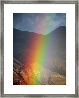 Color Blind Framed Print by John Glass