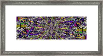 Color Boom Framed Print by Tim Allen