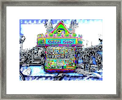 Color Candy Framed Print by Richard Hemingway