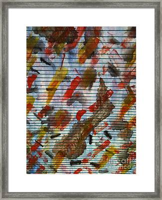 Color Clouds Horizon Framed Print