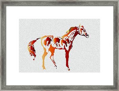 Color Code Framed Print by Ellsbeth Page