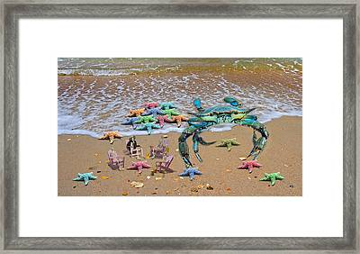 Color Creations Framed Print by Betsy Knapp
