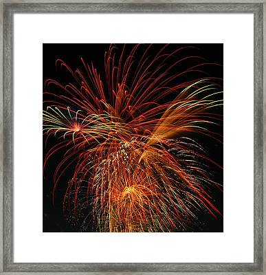 Color Design Framed Print by Optical Playground By MP Ray