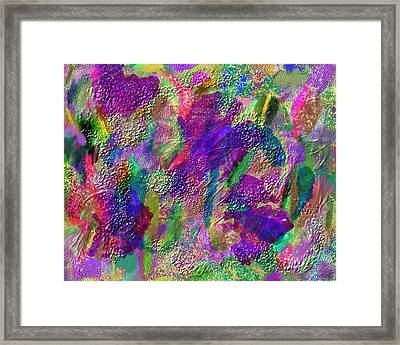 Color Dream Play Framed Print