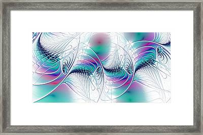 Color Elegance Framed Print