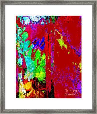 Color Experiment Framed Print