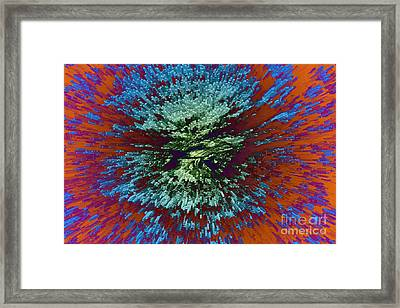 Color Extrusion Framed Print