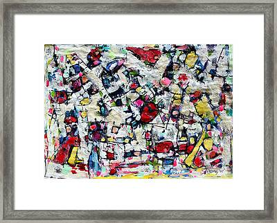 Color Fest Of Love Framed Print by Hari Thomas