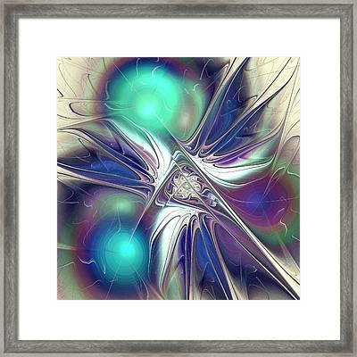 Color Flash Framed Print by Anastasiya Malakhova