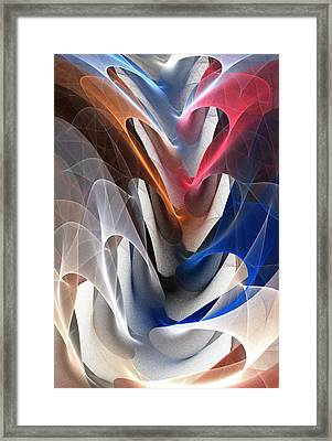 Color Fold Framed Print