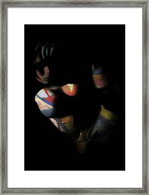 Color Girl Framed Print by Steve K