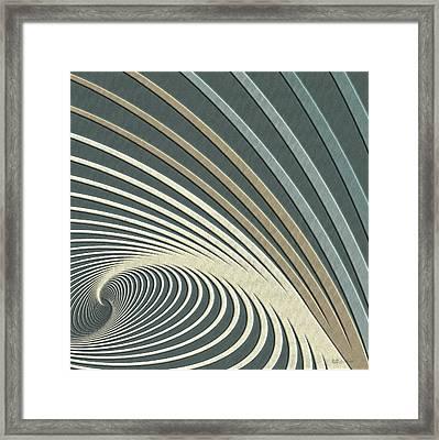 Color Harmonies - Lake Morning Dew Framed Print by Serge Averbukh