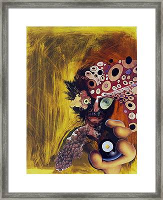Color Intoxication Framed Print