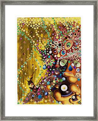 Color Intoxication Remix Framed Print