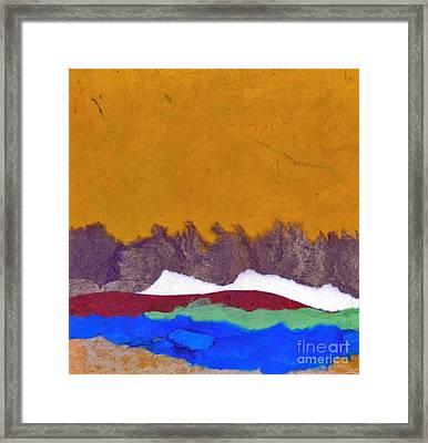 Color Land Framed Print