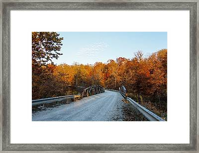 Color Me Autumn  Framed Print by Robin Williams