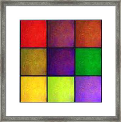 Color Me Happy Framed Print by RjFxx at beautifullart com