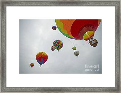 Color My Morning Framed Print by Nick  Boren