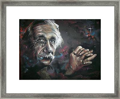 Color My Universe Framed Print
