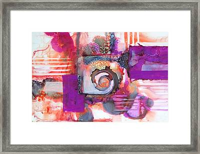 Color My Way Framed Print by Patricia Mayhew Hamm