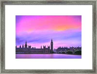 Color My World Framed Print by Midori Chan