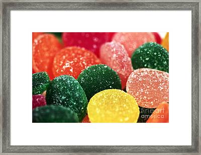 Color Of Flavor Framed Print by John Rizzuto