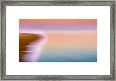 Color Of Morning Framed Print